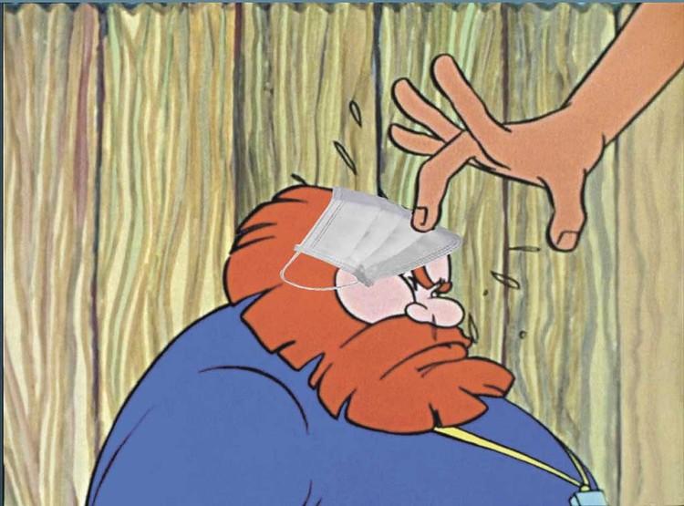 «Поп - толоконный лоб».