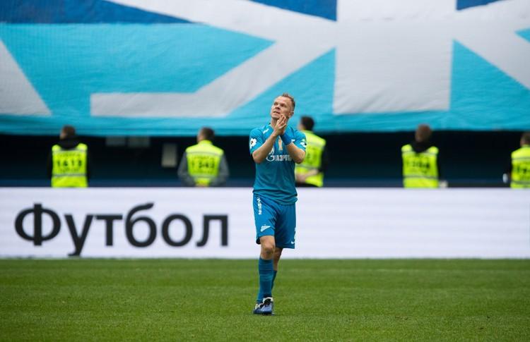 В Петербурге Александра Анюкова по праву считают легендой «Зенита».