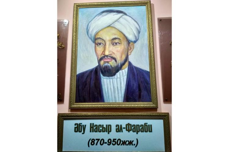 Канонический портрет Аль-Фараби. Источник: elibrary.kaznu.kz
