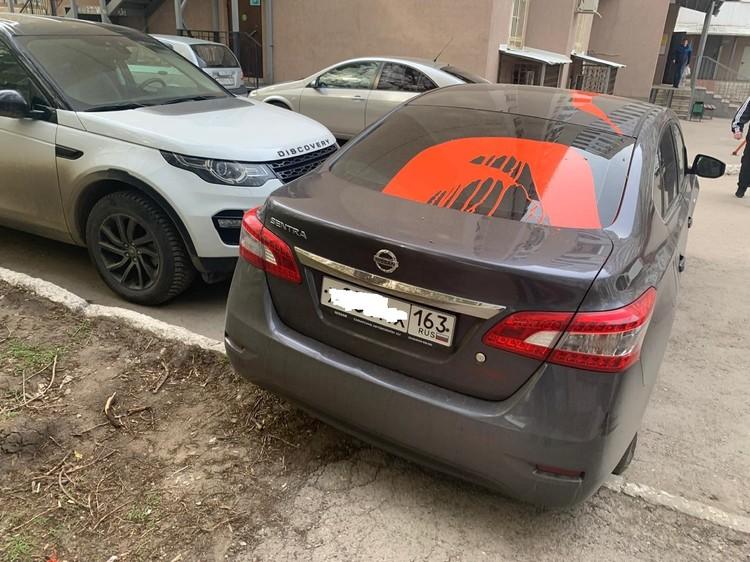 Машину Виталия Смардакова изуродовали из-за его активной деятельности