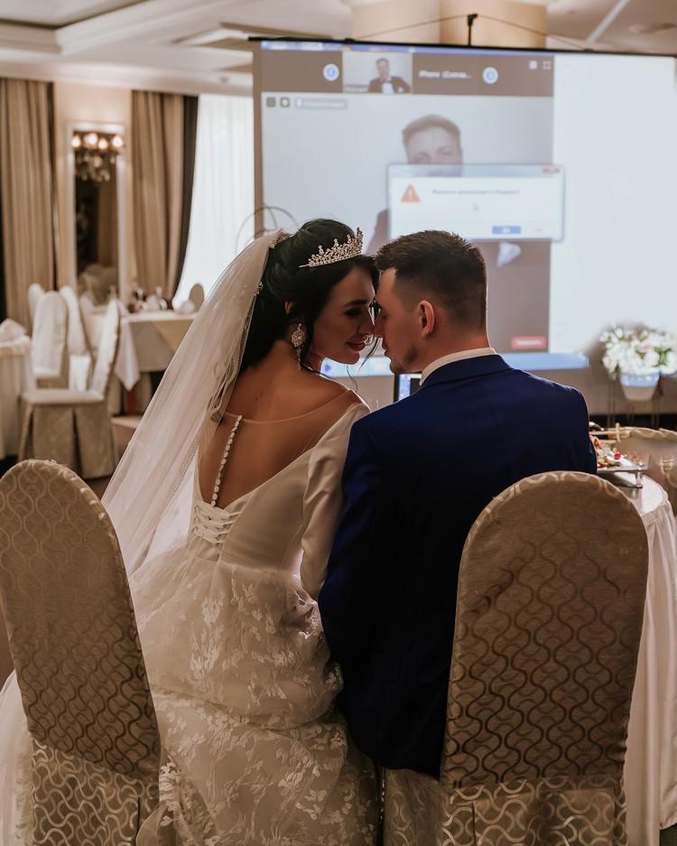 Невеста призналась, что праздник удался!