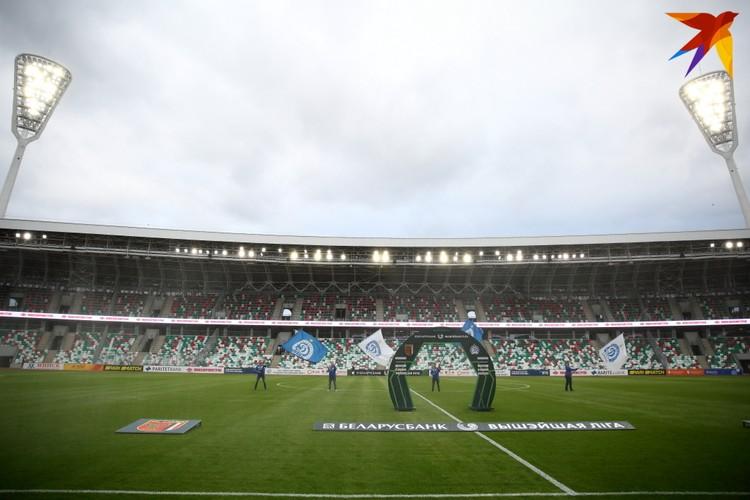 Национальный Олимпийский стадион Динамо.
