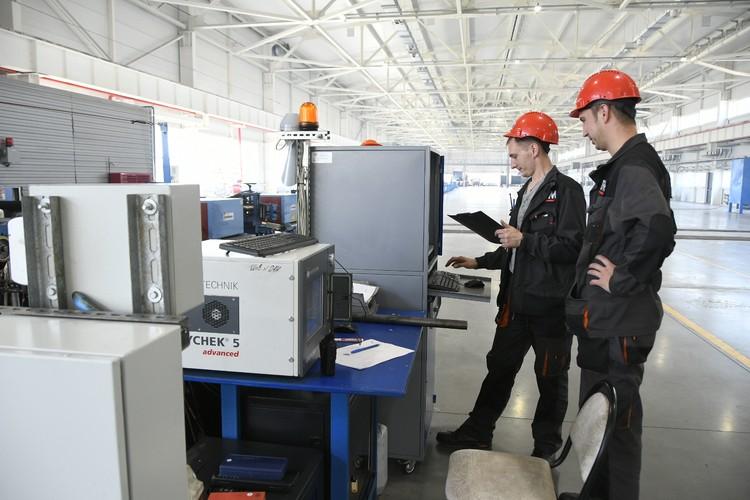 Все производственные решения на заводе рассматриваются с точки зрения экологической безопасности.