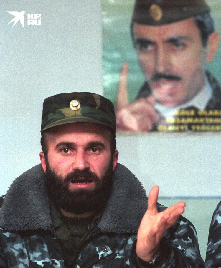 Шамиль Басаев.