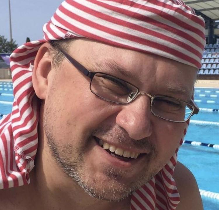 Руководитель информагенства «Весь спорт» Андрей Митьков