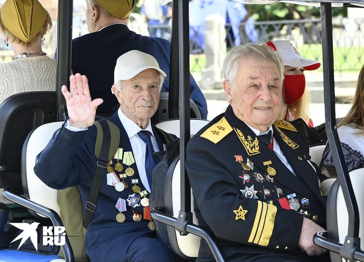 Комфорту ветеранов Победы было уделено особое внимание.