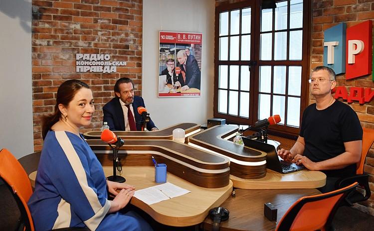 В эфире Владимир Машков