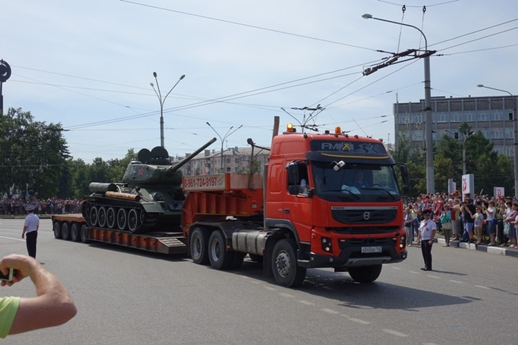 Скоро боевую машину вновь отвезут на Площадь Побед и вернут на постамент.