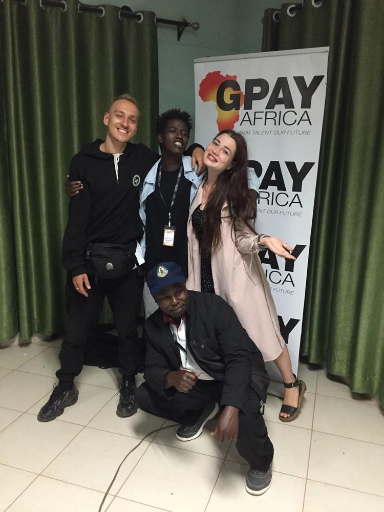 "Аня и ее команда взяли африканский ""Оскар"" на фестивале кино Cinemadamare. Фото: представлено героиней материала"