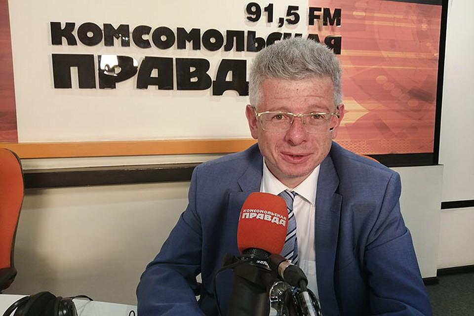 Президент ГК «Корпорация «ГазЭнергоСтрой» Сергей Чернин. Фото: Александр МЕДВЕДЕВ