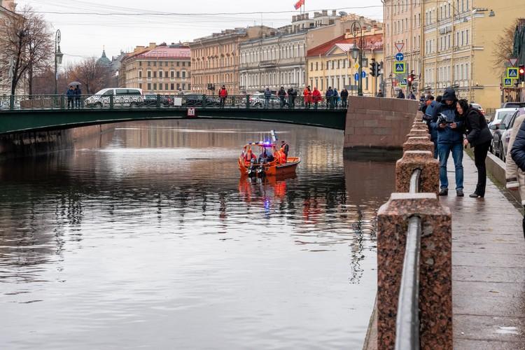 Соколова выловили из реки Мойка