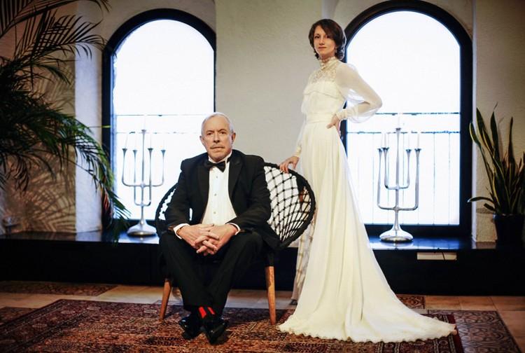 Появилось свадебное фото с тайной женитьбы Андрея Макаревича