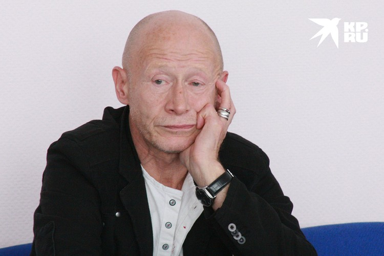 Актер Виктор Проскурин в 2008 году.