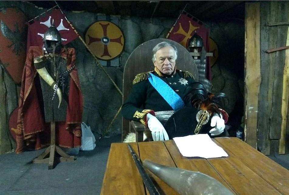 Соколов любил эпоху Наполеона Фото: СОЦСЕТИ