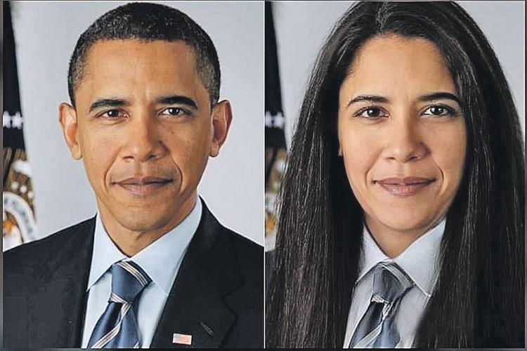 Ради прикола превратили в женщину и экс-главу Америки Барака Обаму. Фото: FaceApp