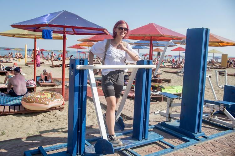 Спортсменам на пляже скучать не придётся.