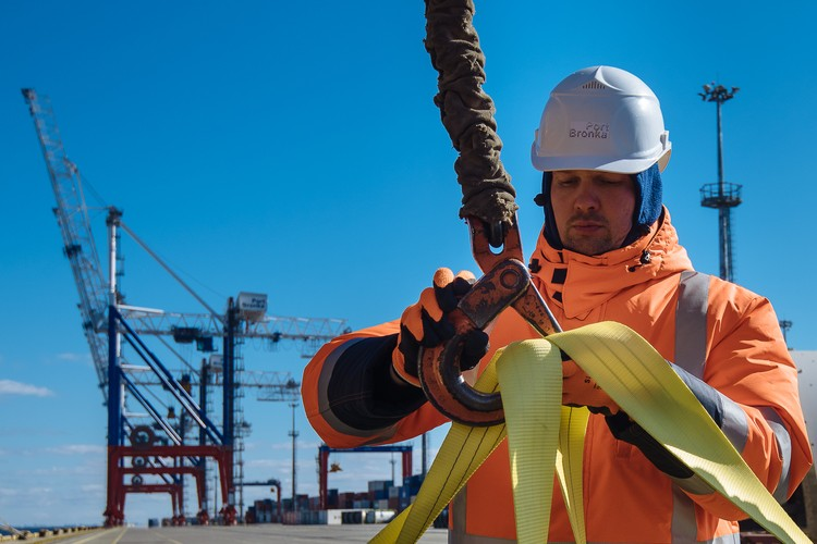 Потенциал территории порта - до 2 миллионов TEU в год. Фото: предоставлено ММПК «Бронка».