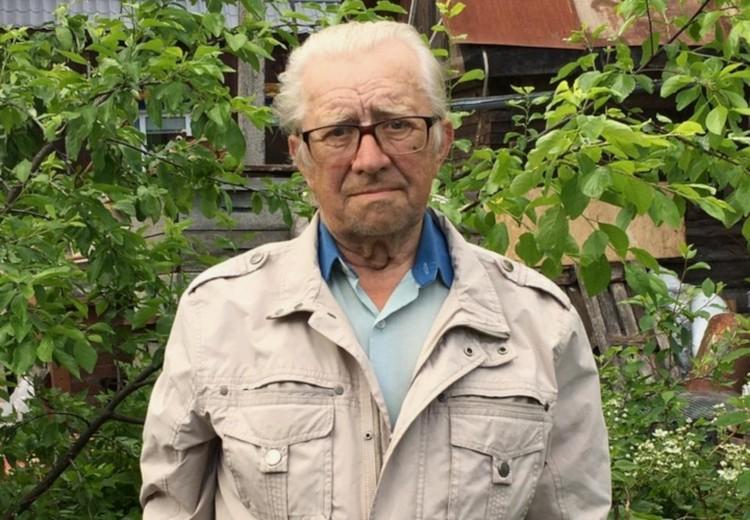 Владимир Федорович Нюхляев вспоминает о своем детстве. Фото: из архива Владимира Нюхляева