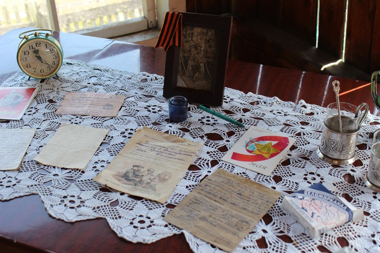 Пожалуй, самый ценные экспонаты выставки - фронтовые письма. Фото: УФПС Челябинской области