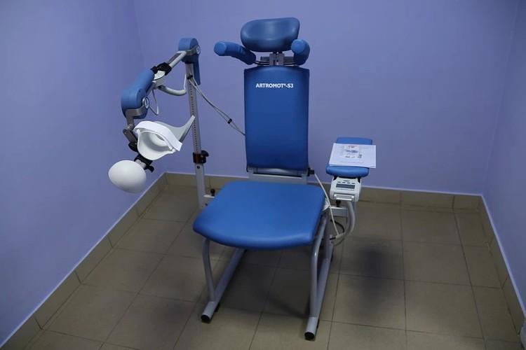 Аппарат для разработки плечевого и локтевого суставов (Германия)