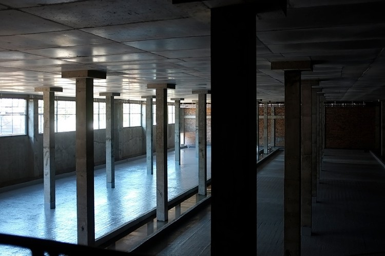 Вот так сейчас выглядит будущий зал для керлинга. Фото: Дмитрий Орлов