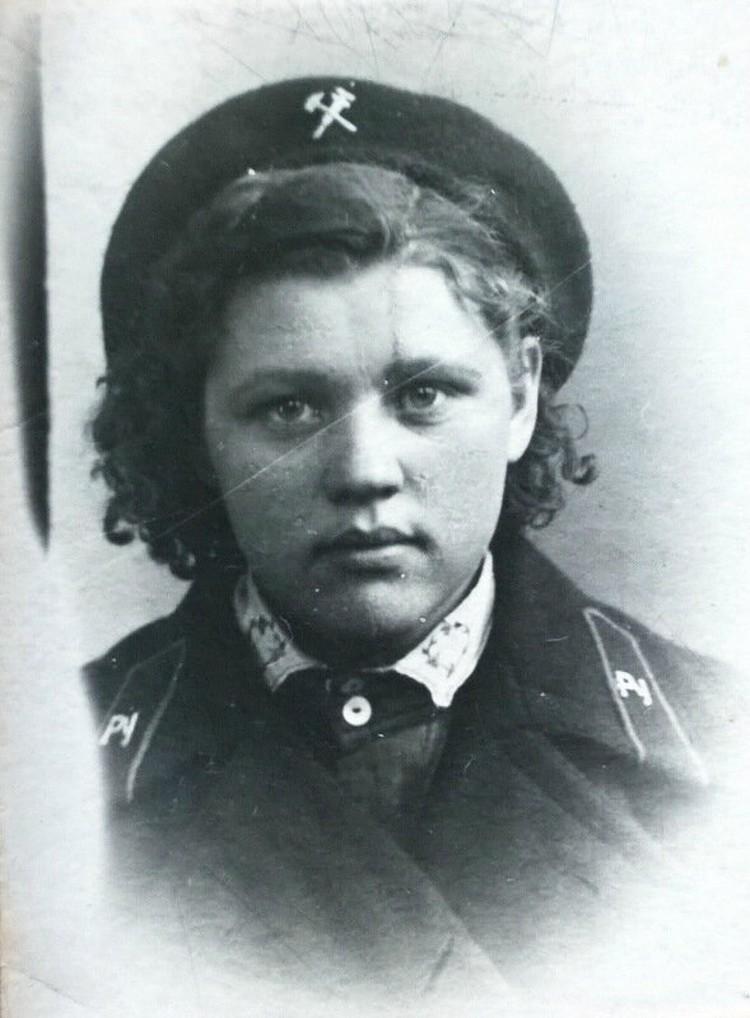 Тамара Петровна Гриднева, дежурная по щиту Куйбышевской ГРЭС в годы войны