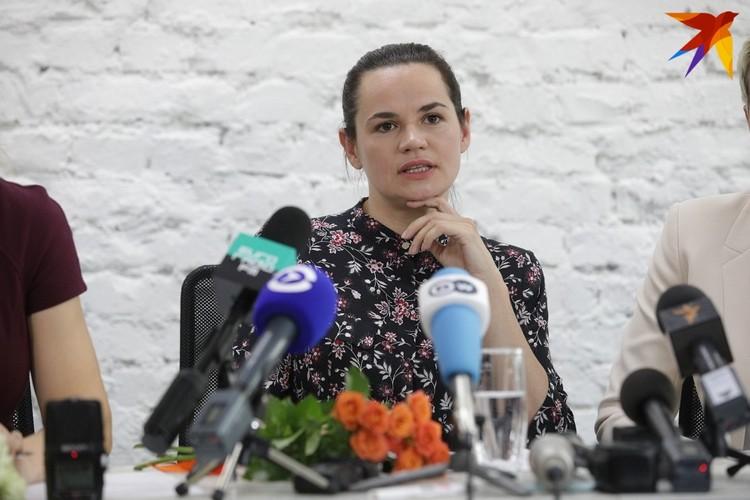 """Кандидат в депутаты Светлана Тихановская: """"Я продолжаю идти дальше, несмотря на все попытки меня сломать""""."""