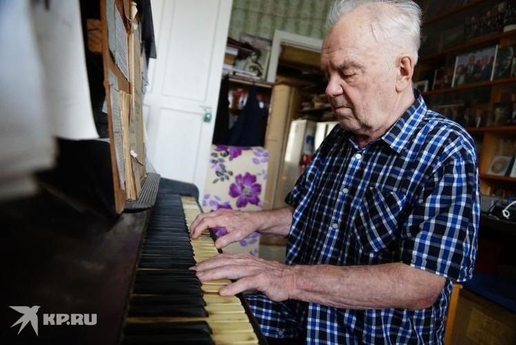 Этот снимок был сделан, когда Евгению Родыгину исполнилось 90 лет.