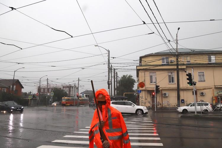 Ливень в Краснодаре 21 июля.
