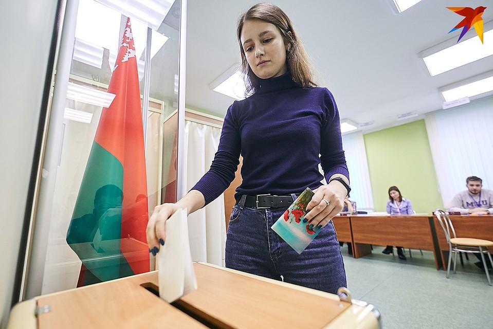 Студенты смогут голосовать по месту постоянной регистрации. Фото: Павел МАРТИНЧИК