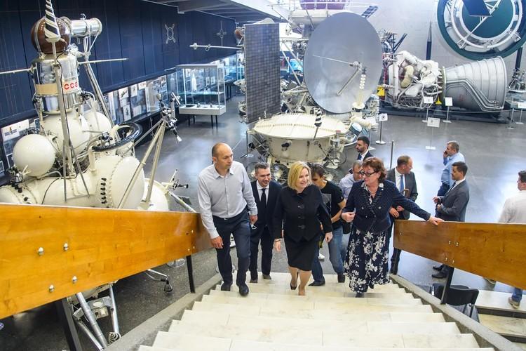 Экскурсия по Музею космонавтики. Фото: пресс-служба Министерства культуры