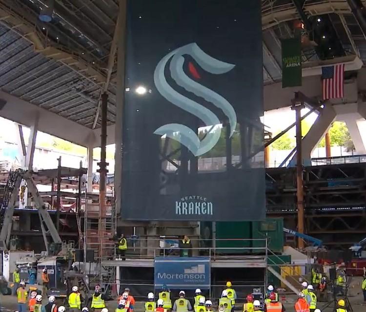 Презентация клуба прошла на стройплощадке будущей арены.