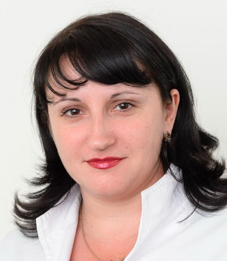 Bpач-гастроэнтеролог Валентина Лупанова.
