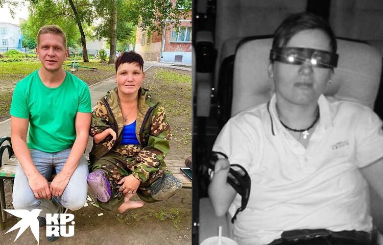 Знакомая обратилась в благотворительный фонд, теперь новосибирцы собирают деньги на коляску. Фото: Предоставлено Сергеем Зайковым
