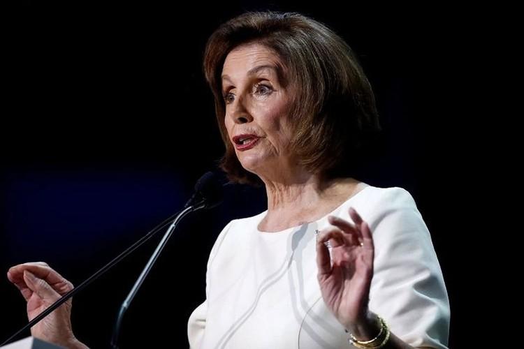 Лидер демократического большинства в Конгрессе Нэнси Пелоси.