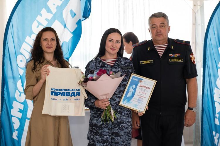Елена Михина занимается волонтерской деятельностью.