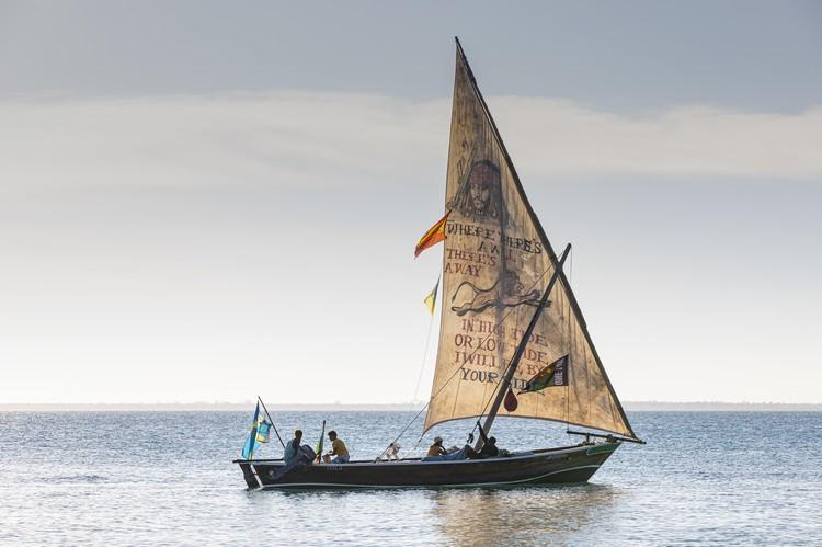Экзотичная лодка