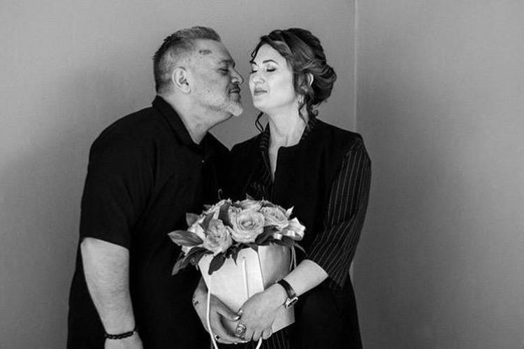 Любовь Карабашевич с супругом