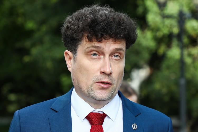 Адвокат Павла Мамаева Игорь Бушманов. Фото: Антон Новодережкин/ТАСС