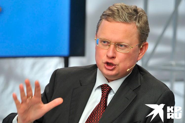 Михаил Делягин, директор Института проблем глобализации.