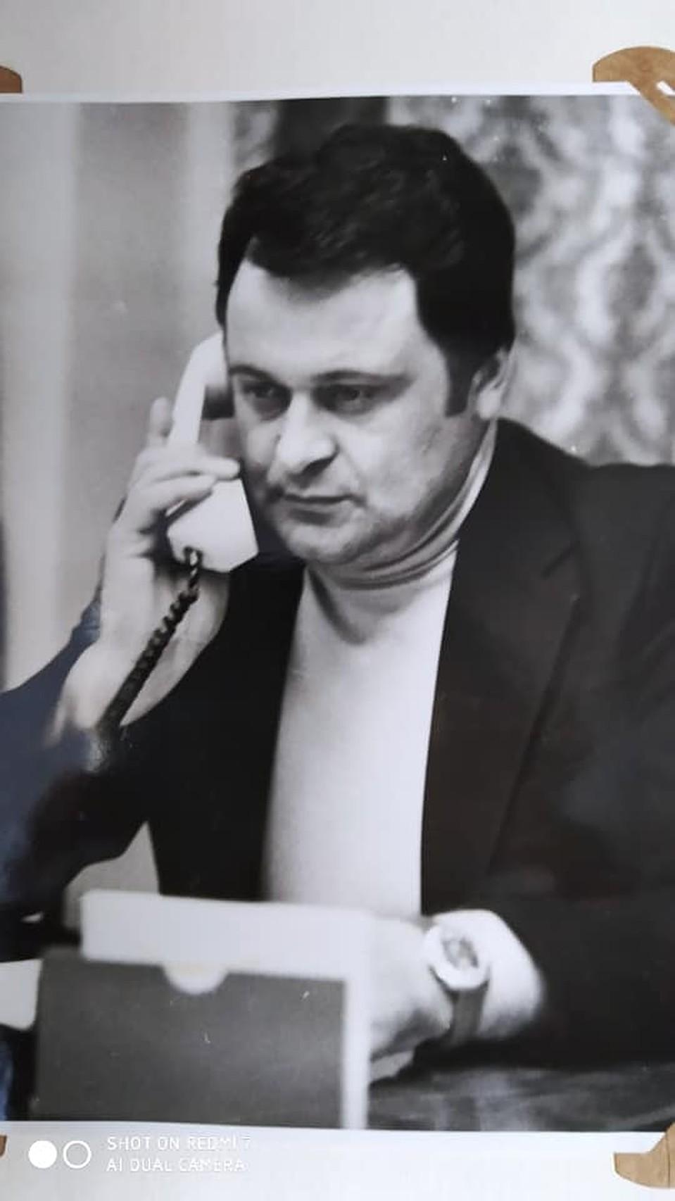 """В кресле директора """"Интуриста"""". (Фото: личный архив Николая Узуна)."""