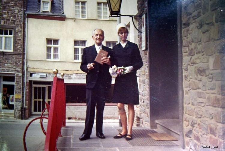 В 1969-м 73-летний Скосырев женился второй раз на 30-летней Марии-Розите. Фото: Архив Леонида ЛАВРЕША
