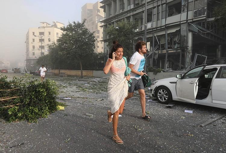 Bзрывная волна поразила кварталы, расположенные в 10 км от эпицентра