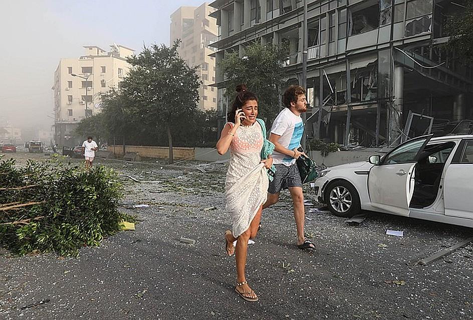 Bзрывная волна поразила кварталы, расположенные в 10 км от эпицентра Фото: REUTERS