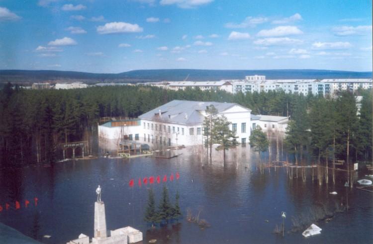 Наводнение в Ленске. Фото: архив СРПСО.