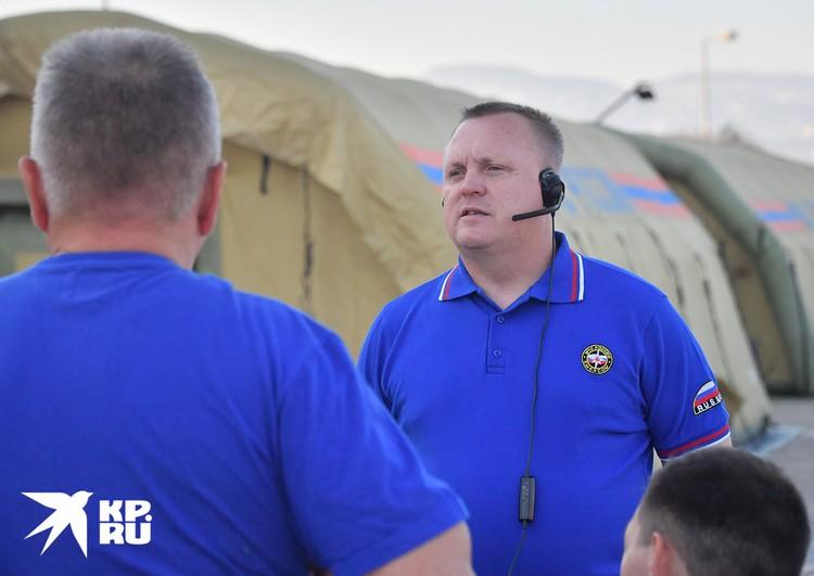 Заместитель начальника Национального центра управления в кризисных ситуациях Сергей Воронцов.