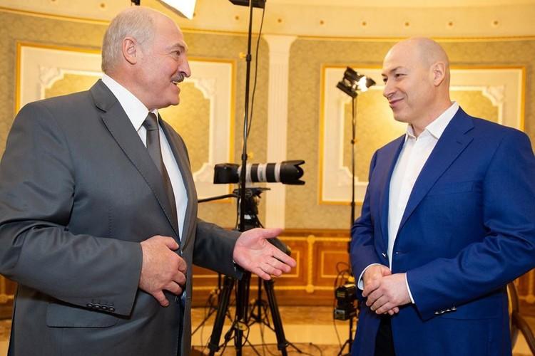 Украинский журналист Дмитрий Гордон взял большое интервью у Александра Лукашенко. Фото: instagram.com/gordondmytro
