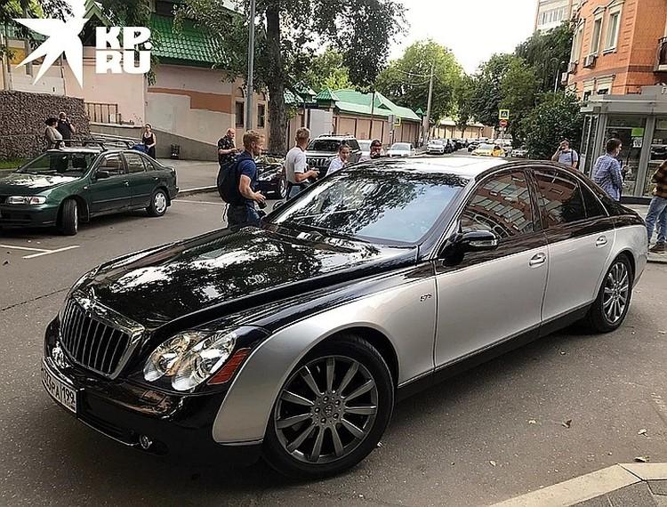 """""""Майбах"""" Эльмана Пашаева"""