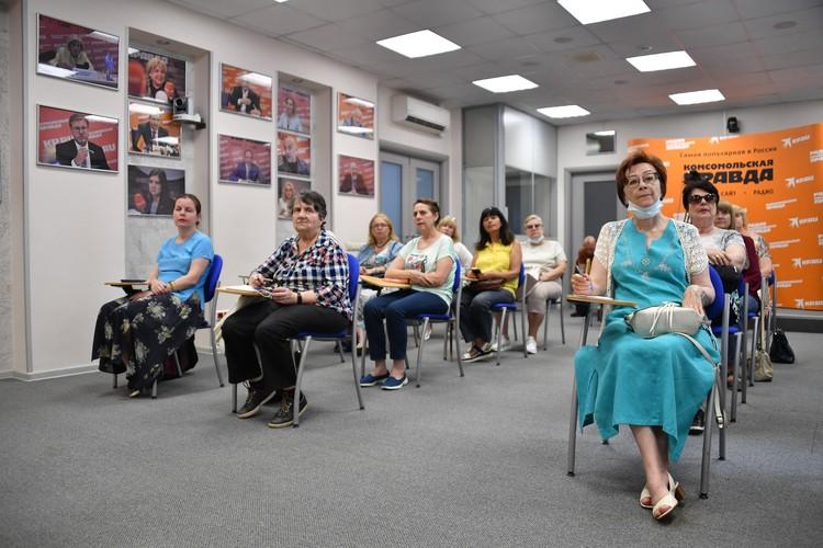 Лекции проходят в рамках проекта «Школа здорового питания для старшего поколения «Питайся на отлично».