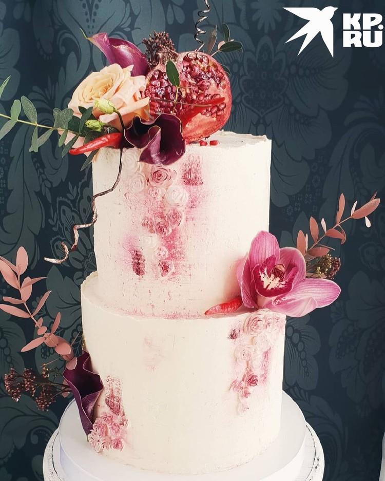 Свадебный десерт. Фото: предоставлено Наталией ВЕРТЕ.